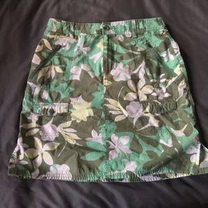 COLUMBIA XCO (Cross country) Cargo Skirt EUC